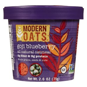 Goji Blueberry Oatmeal