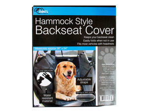 Backseat Cover for Pets