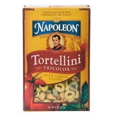 Cheese-filled Tortellini Tricolor