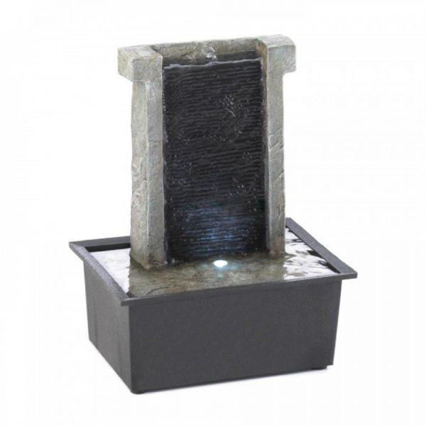 Stone Waterfall Tabletop Fountain