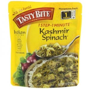 Flavored Spinach with Paneer cheese